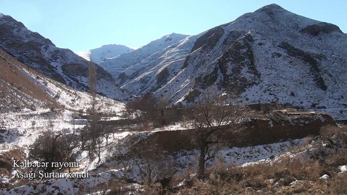 Ashaghi Shurtan village of Azerbaijan's Kalbajar –   VIDEO