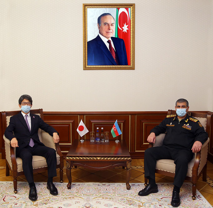 Azerbaijan and Japan discuss development of cooperation in military sphere