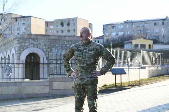 Prezidentin Şuşa səfəri - VİDEO+FOTOLAR (YENİLƏNİB)