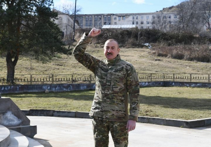 Humiliating act of capitulation will remain in history forever - Ilham Aliyev