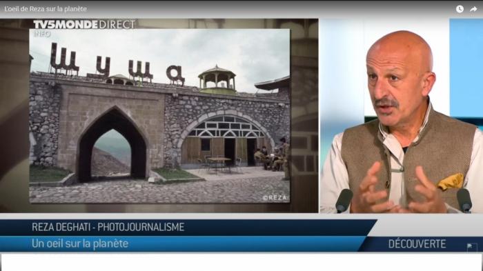 رضا ديغاتي يتحدث على القناة الفرنسية عن فظائع الأرمن