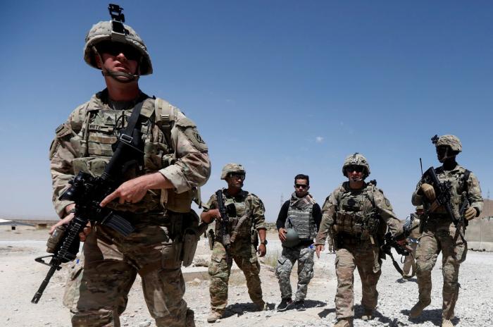 US decreases troop numbers in Afghanistan to 2,500