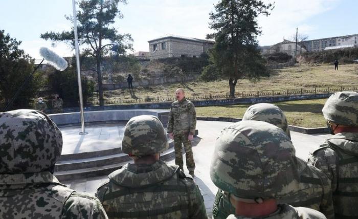 President Aliyev: I came to Shusha using victory road