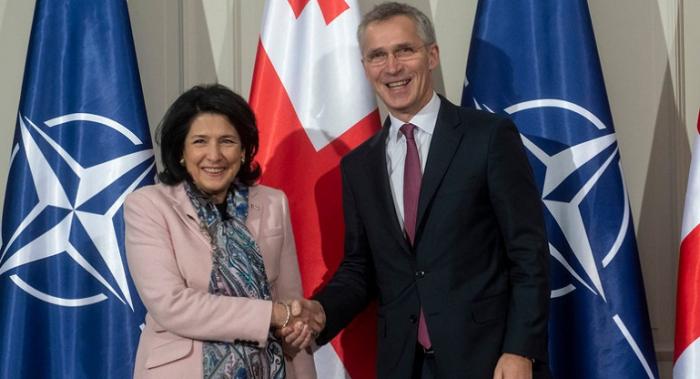 Georgian president, NATO Sec-Gen to meet next week in Brussels