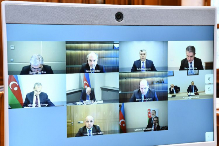 Azerbaijani Economic Council holds first meeting in 2021