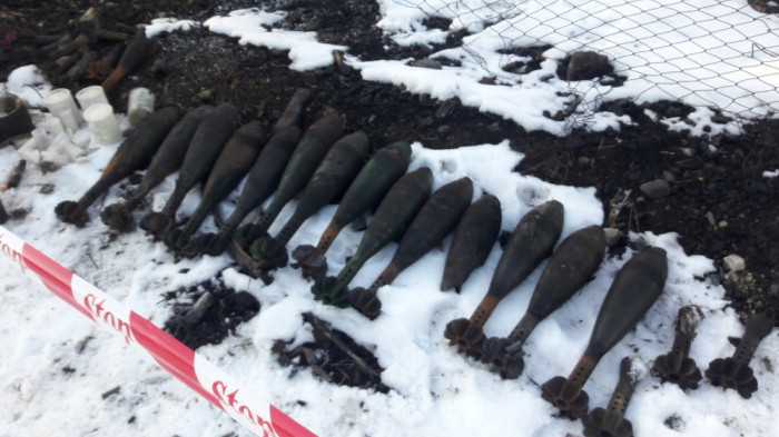 Missiles, shells and mines found in Shusha, says ANAMA