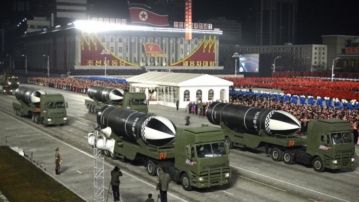 Huge military parade held in North Korea ahead of Biden inauguration -  NO COMMENT