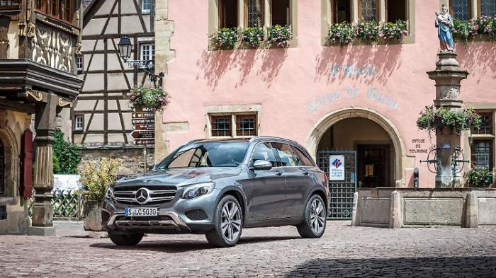 Mercedes GLC - zuverlässig, ein Problem