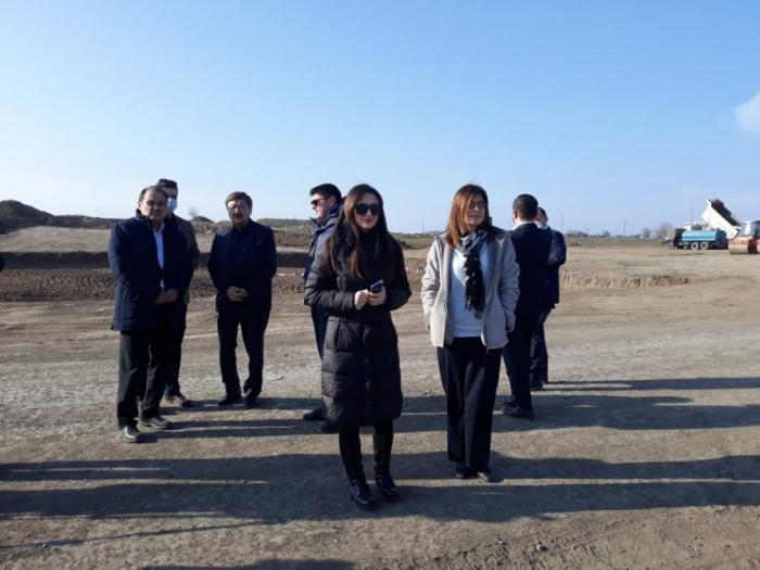 Vertreter von TURKSOY und des türkischen Rates fahren nach Füzuli