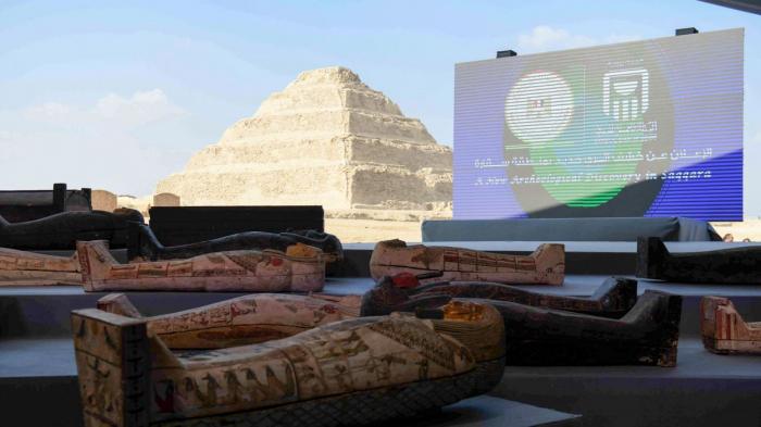 Egypte: de nouveaux trésors archéologiques découverts dans la nécropole de Saqqara