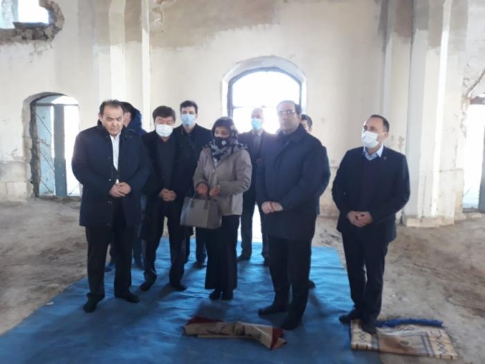 Une délégation de Turksoy et du Conseil turc effectue une visite à Aghdam -  PHOTOS