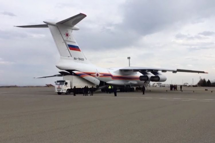 Additional group and equipment brought to Azerbaijan from Russia for mine clearance