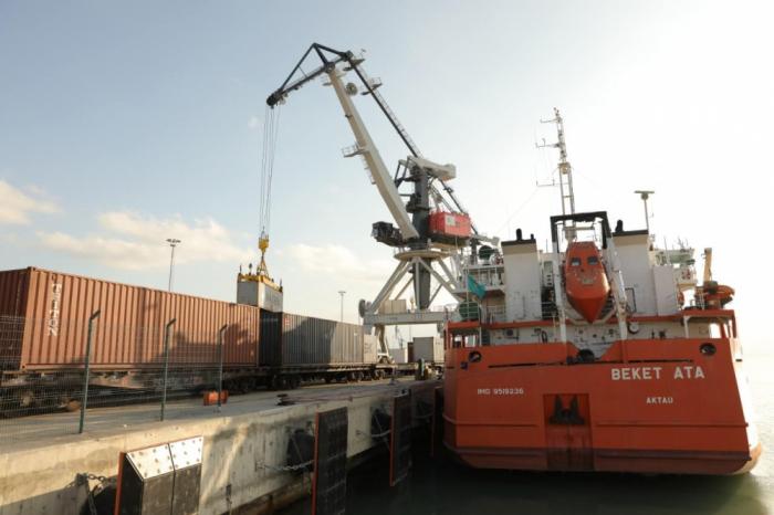 Azerbaïdjan:  912,3 mille tonnes de marchandises transportées par voie maritime en 2020