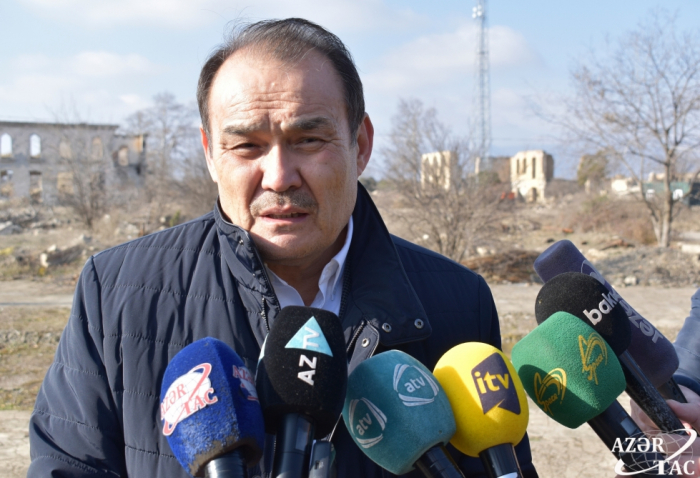 Baghdad Amreyev talks destruction of Azerbaijan