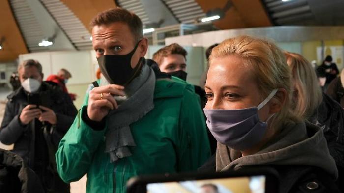 Druck auf Moskau nach Nawalny-Festnahme wächst
