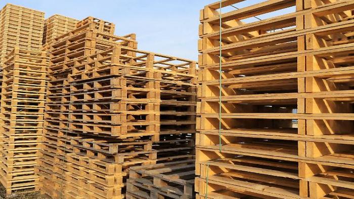 Holzpaletten-Norm bremst Post-Brexit-Handel