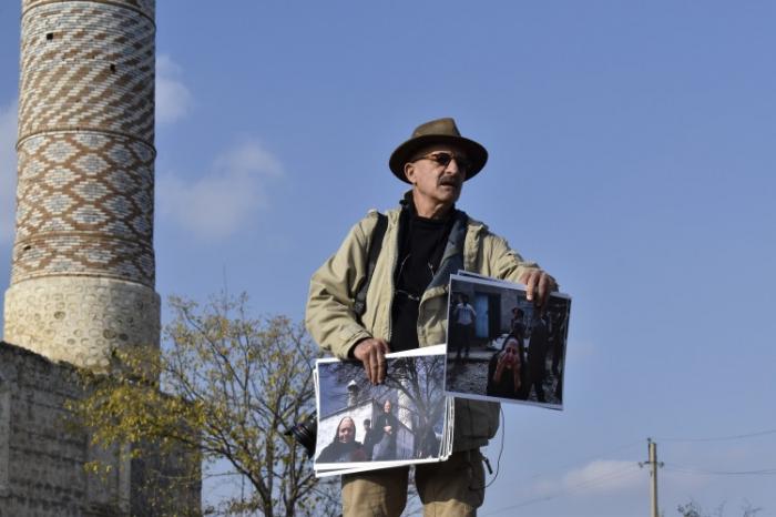 """Reza Deghati:  """"Nunca he visto las ruinas de Fizuli y Agdam"""""""