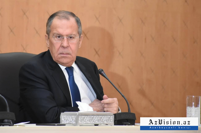 Russian FM: Issue of status not included consciously in trilateral statement on Karabakh