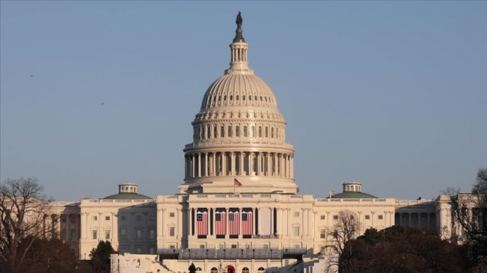 US Capitol building under lockdown after nearby fire