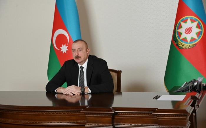 President Aliyev receives Baghdad Amreyev in video format - UPDATED