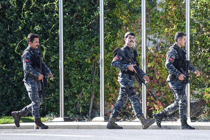 238 detained in Turkey