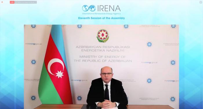 Se establecerán zonas de energía verde en las tierras liberadas de Azerbaiyán