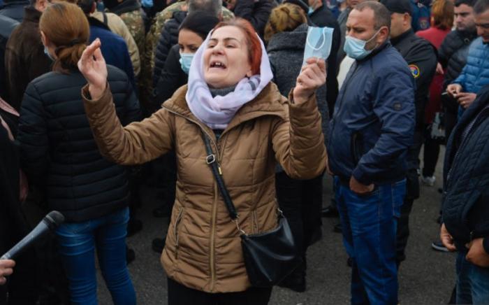 """Los armenios:  """"No queremos una guerra, es suficiente, han muerto tantos jóvenes"""""""