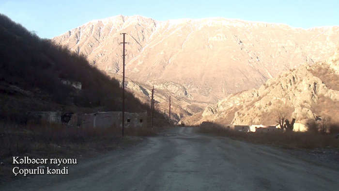 Azerbaijan releases   footage   from another village of Kalbajar