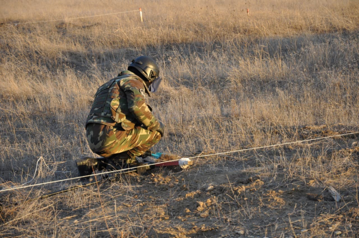 210 mines defused in liberated Azerbaijani lands –  PHOTOS