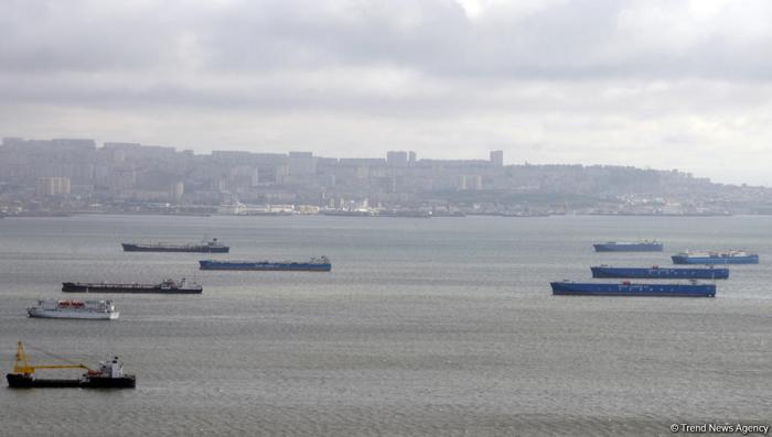 Caspian Shipping Company's marine flotilla reveres memory of January 20 martyrs