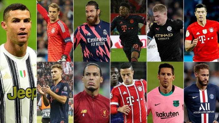 Foot:  l'UEFA a dévoilé sa composition type pour l'année 2020
