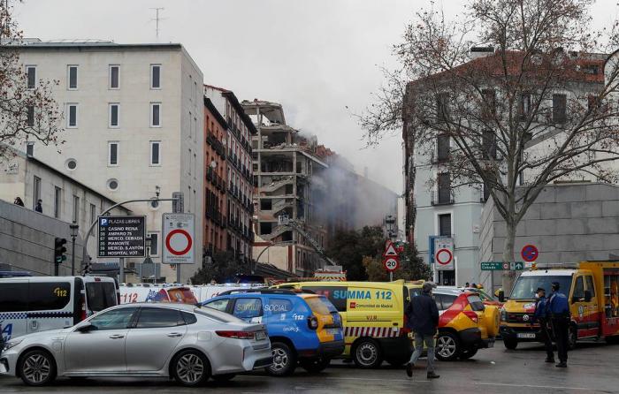 Une puissante explosion détruit un immeuble dans le centre de Madrid,au moins trois morts- Mise à jour