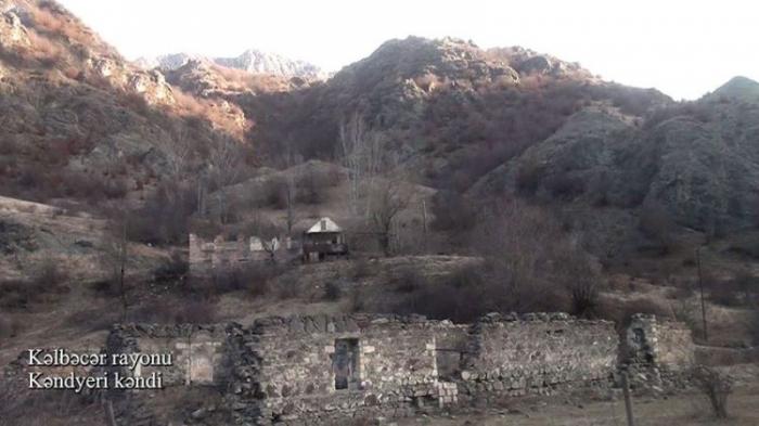 Kəlbəcərin Kəndyeri kəndi -    VİDEO