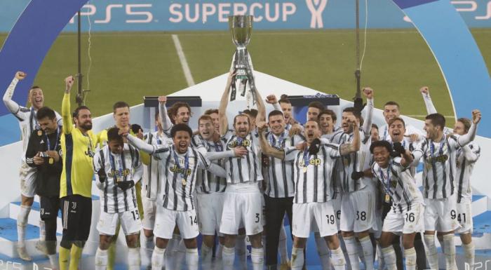 Juventus beat Napoli to win Italian Super Cup