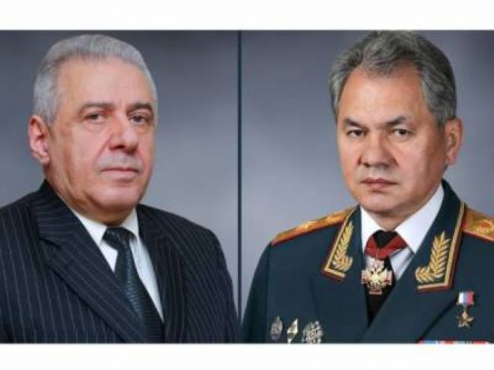 Russian, Armenian defense ministers discuss situation in Karabakh