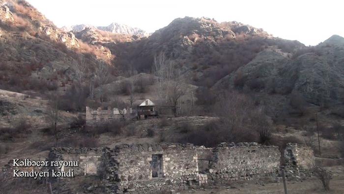 Azerbaijan releases   video footage   from another village of Kalbajar