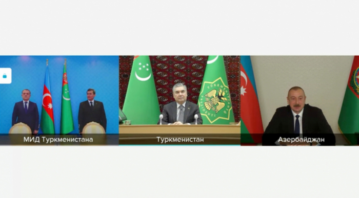 Turkmenistan affirms readiness to support Azerbaijan's initiatives, proposals in int'l organizations