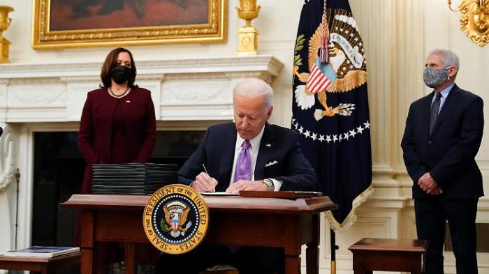 Biden will Quarantäne für Einreisende