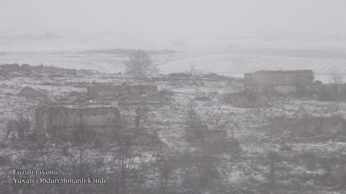 VIDEOaus einem anderen Dorf in Füzuli