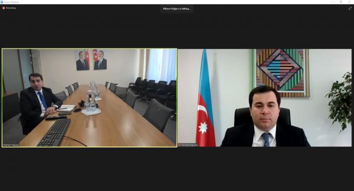 Unaconferencia web fue organizada por Hikmet Hajiyev