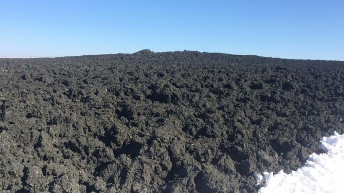 Şamaxıda vulkan püskürən ərazidən    FOTOLAR
