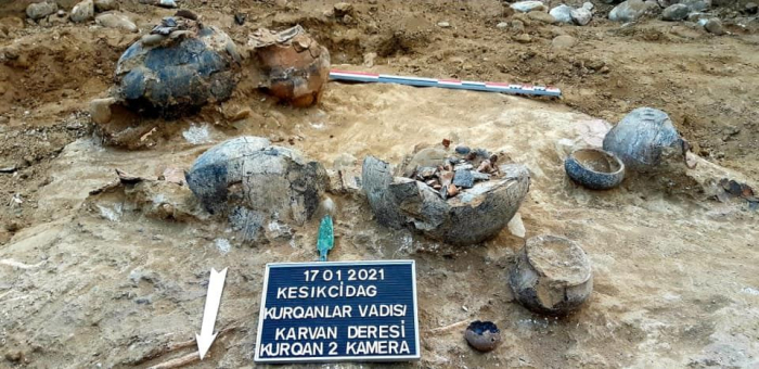 Archaeological sites discovered in Keshikchidag State Historical and Cultural Reserve -  PHOTOS