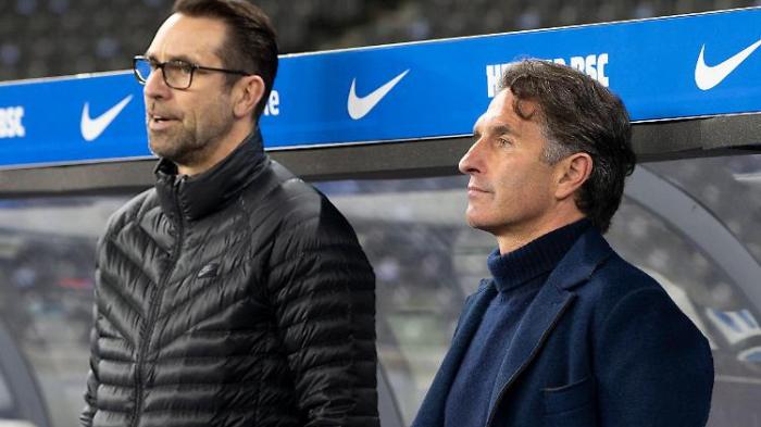 Labbadia und Preetz bei Hertha wohl vor dem Aus
