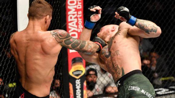UFC 257:  Dustin Poirier arruinó el regreso de Conor McGregor