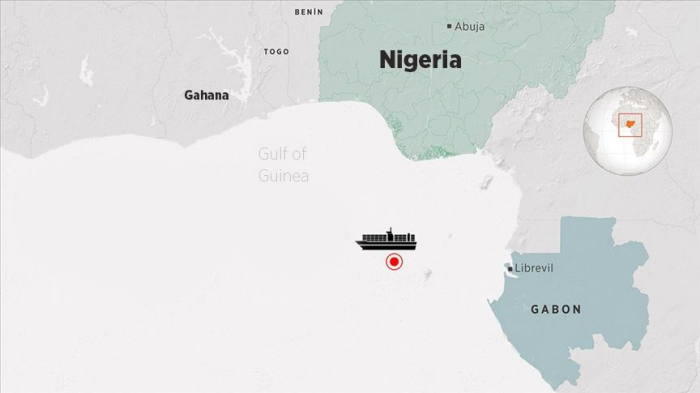 After pirate attack, Mozart ship arrives at port in Gabon