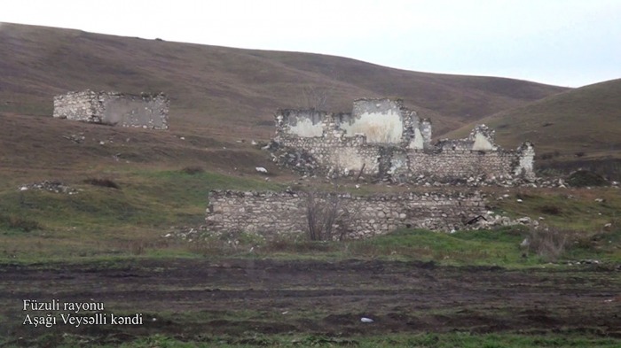 Aschaghi Veysalli Dorf in Füzuli -   VIDEO