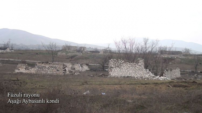 Ashaghi Aybasanli village of Azerbaijan's Fuzuli -  VIDEO