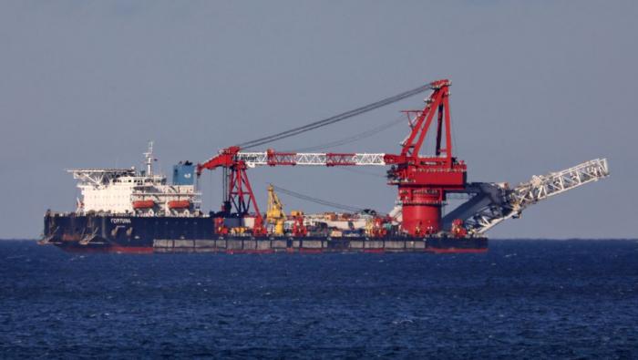 Russisches Verlegeschiff in dänischen Gewässern eingetroffen