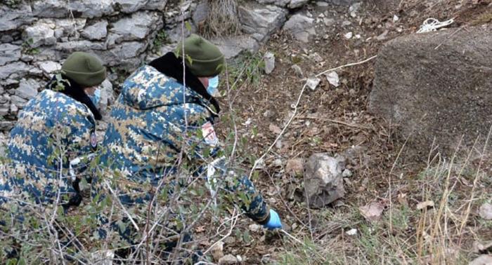 Los cuerpos de dos armenios más se encuentran en Karabaj