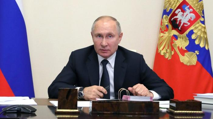 """Putin, sobre la investigación de Navalny:   """"Nada de lo indicado como mi propiedad me pertenece y nunca me ha pertenecido ni a mí ni a mis familiares"""""""
